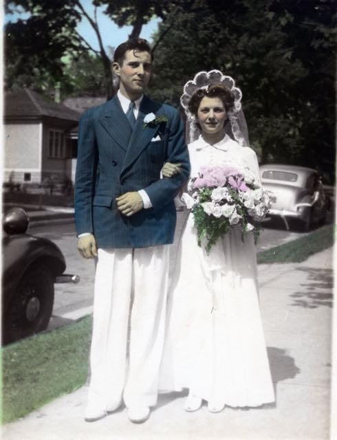 Image: Solomon/Wilcox Wedding June 1942
